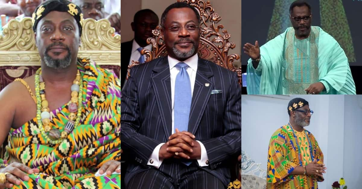 His Royal Majesty: Meet the Ghanaian king who is a renowned head pastor in the U.S. with 3 doctorate degrees