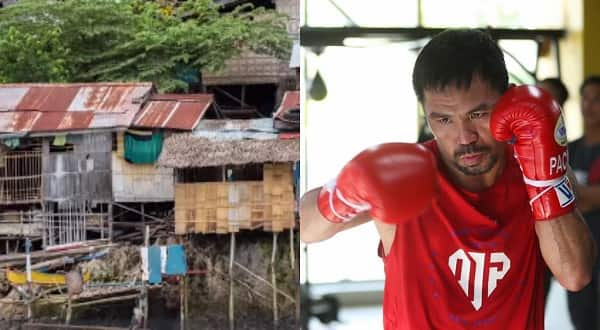 The Manny Pacquiao Foundation solicit funds to build homes for the poor