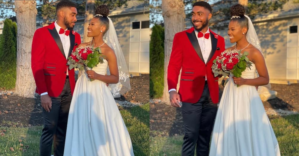 Abundant joy as man marries lady she met in 2016 as a virgin; internet celebrates them