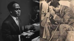 I was not born on September 21 - Kwame Nkrumah clarifies in his autobiography; photo pops up