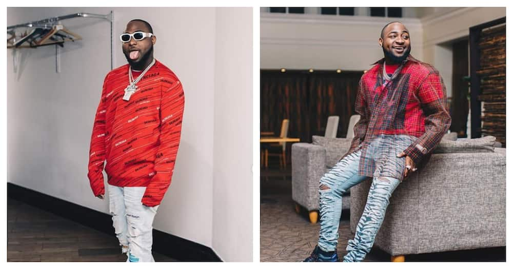 I can buy this place 10 times - Davido angrily says as Bloombar bouncers bounce one of his boys (video)