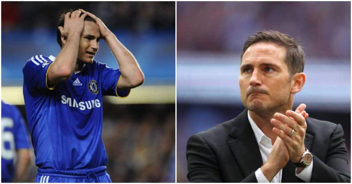 Setback for Lampard as ex-Chelsea star raises question on Englishman's experience for Blues job