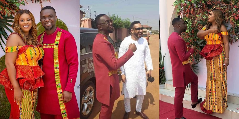 Majid Michel gives first marriage advise to Joe Mettle and Selassie Dzisa (Video)