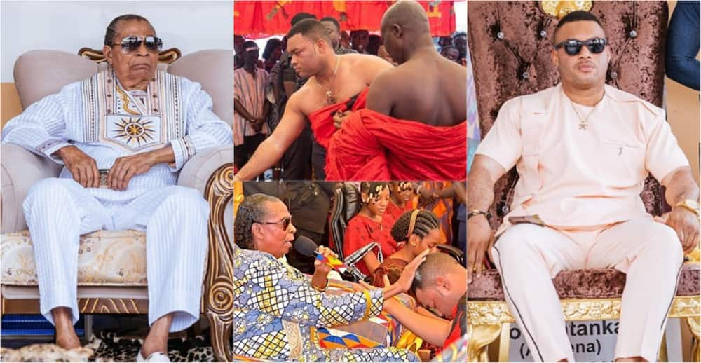 Father's Day: Kwadwo Safo Kantanka Jnr flaunts millionaire status as he drops message to celebrate his dad
