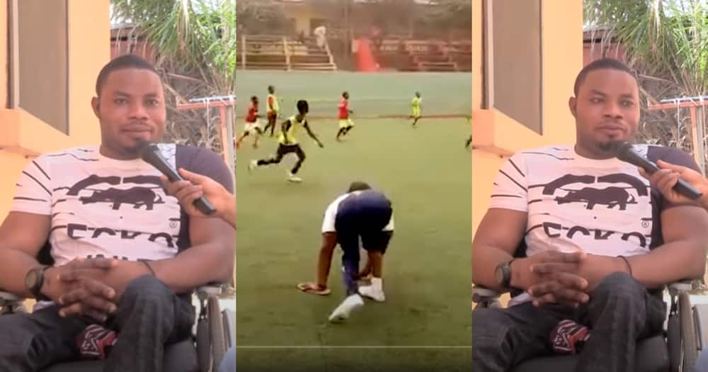 Disability is not inability: Disabled young man set eyes on coaching the Black Stars