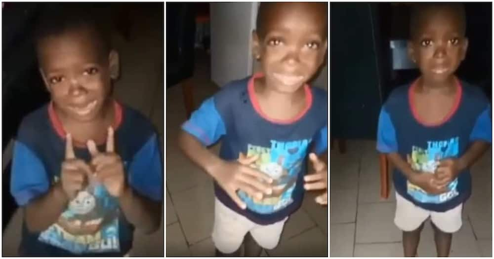 Hilarious video of little boy telling his mother to calm down as she disciplines him