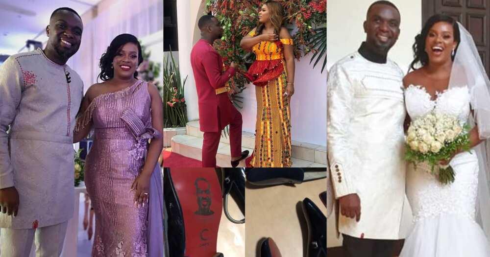 Joe Mettle wedding: Videos of singer's customised Ghana-made fashion