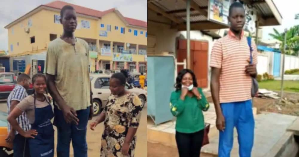 Tallest man in Volta lands ambassadorial contract with local company