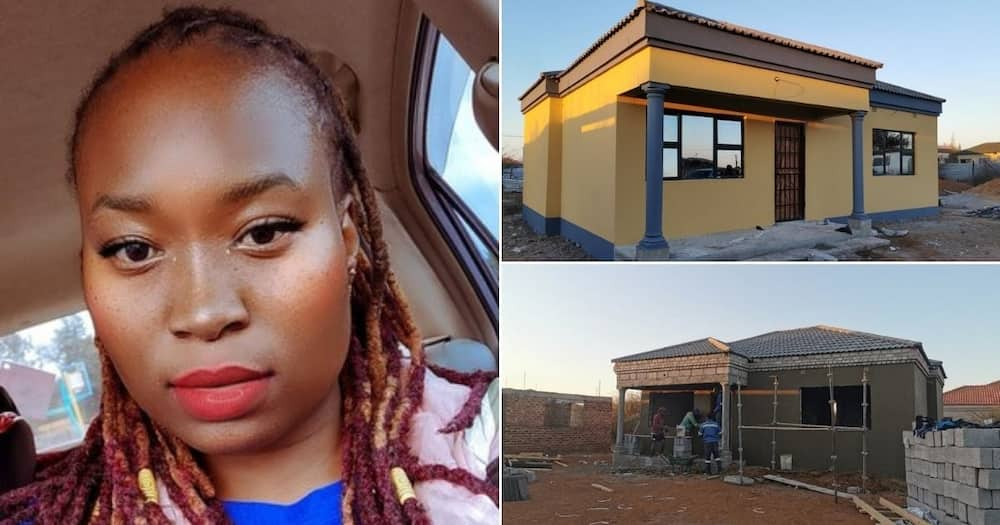 Beautiful lady gushes about building herself a house before turning 30