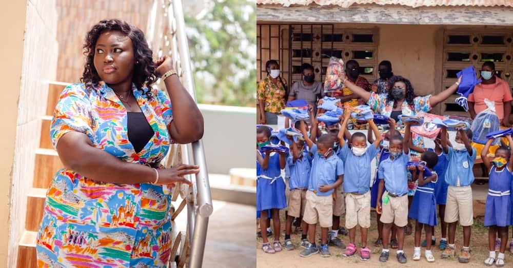YEN Gets Results: Teacher who donated bags, shoes & uniform honoured by GES
