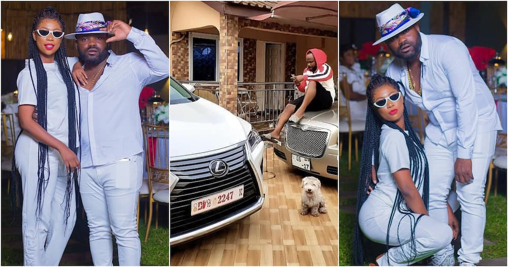 Praye Tietia's wife Selly Galley, house, and cars