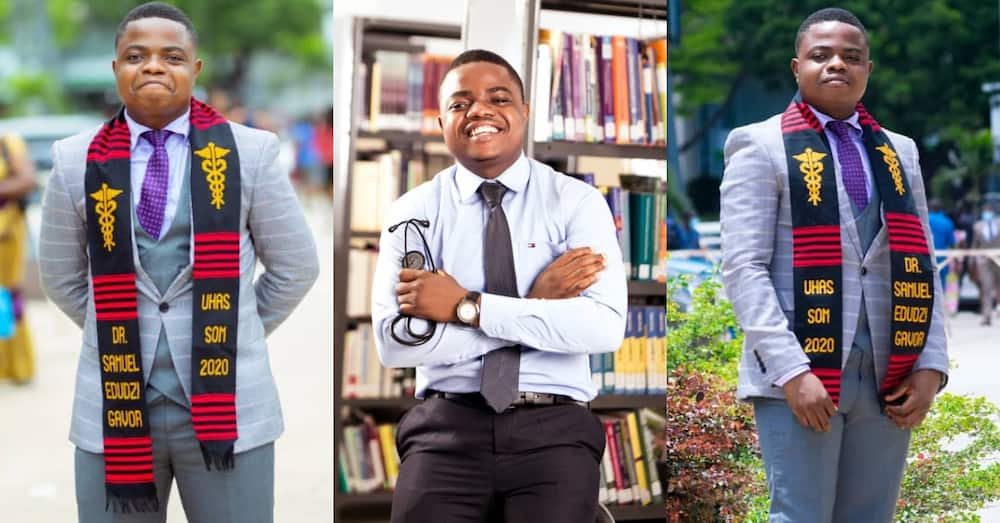 Gentleman with 7As who was denied Medicine at KNUST graduates as doctor from UHAS