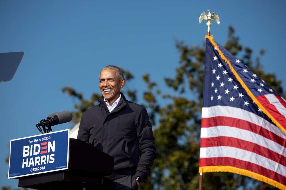 Barack Obama congratulates Joe Biden and Kamala Harris