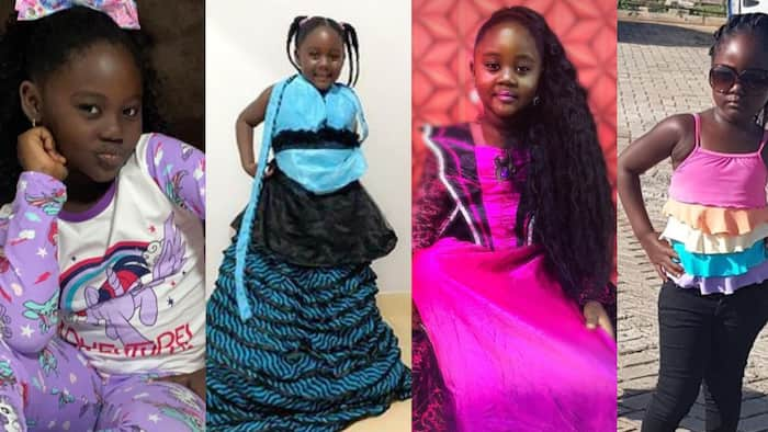 8 photos and videos of Odartey Lamptey's first daughter Malaika proving she is a gorgeous, talented actress at 7
