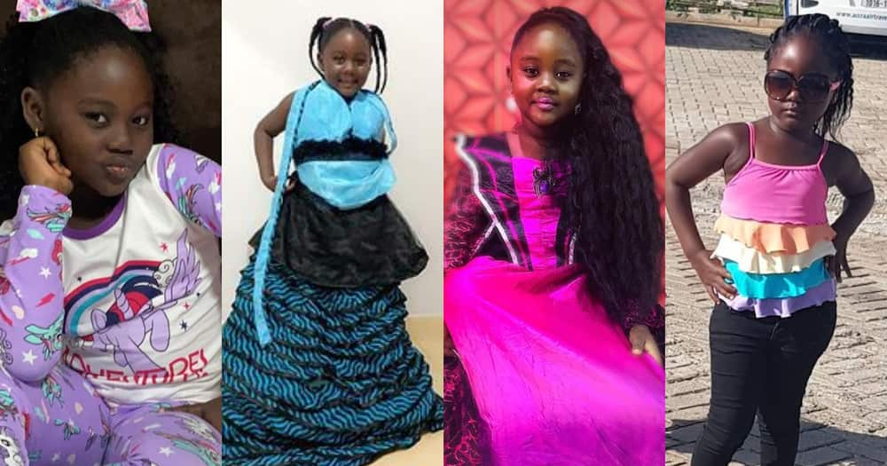 Malaika Lamptey: 8 Photos of Odartey Lamptey's First Daughter Proving she is Gorgeous at 7