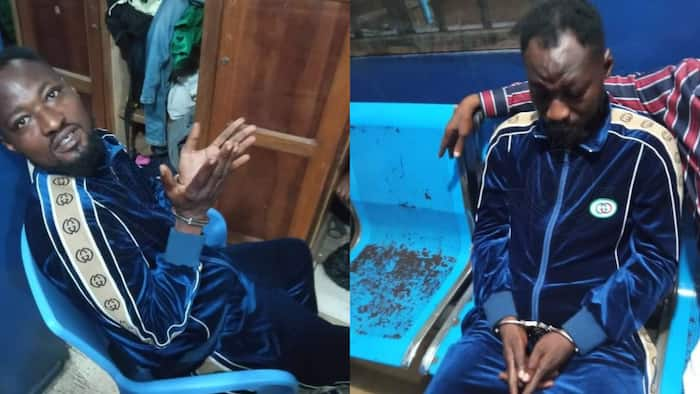 Funny Face arrested during TV interview for threatening baby mama, others; photos drop