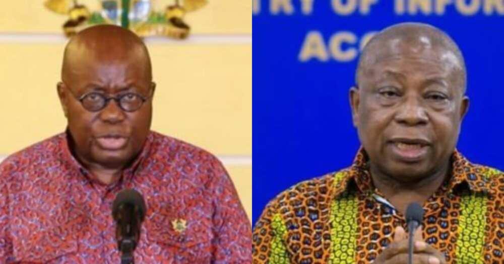 Agyeman Manu still remains resolute despite suffering - Akufo-Addo says amidst Sputnik saga