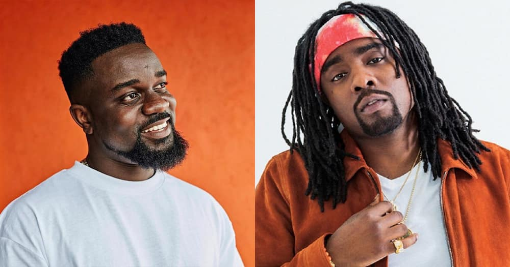 "American rapper Wale shows support for Sarkodie's ""No Pressure"" album; Sark Nation rejoice"