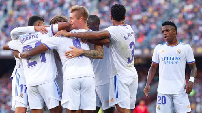 Real Madrid outshine Barcelona in 1st El Clasico clash at Camp Nou