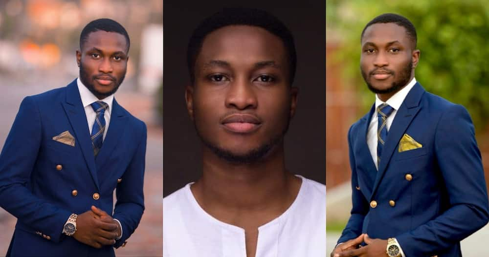 Nana Akwasi Sarpong: Ghanaian who Dropped out of School to Study Dream Program Graduates as best Student