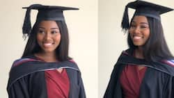 Lady bags law degree from top university; gets massive shoutout from ex-EC boss, Charlotte Osei (photos)
