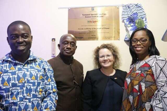 Israel upgrades neonatal units of Kumasi South and Suntreso hospitals (Photos)