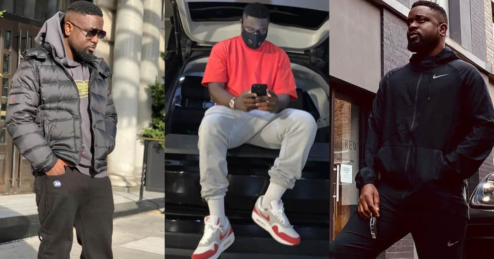 Sarkodie boasts that Ghana can never have his replacement till he dies (Video)