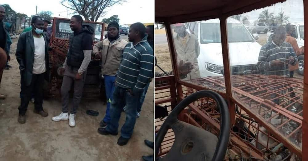 """Man builds his own bakkie using metal, wows SA: """"Absolutely amazing"""""""