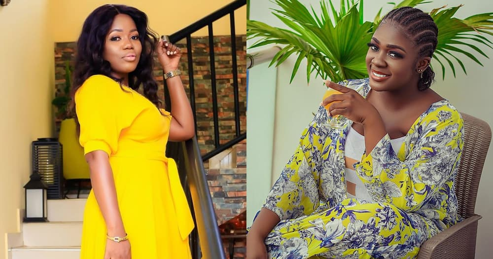 Mzbel flaunts her plush living room amid beef with Tracey Boakye
