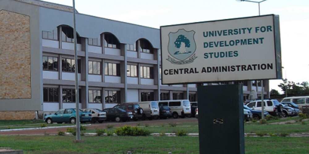 List of top 5 universities in Ghana; GIMPA is not included