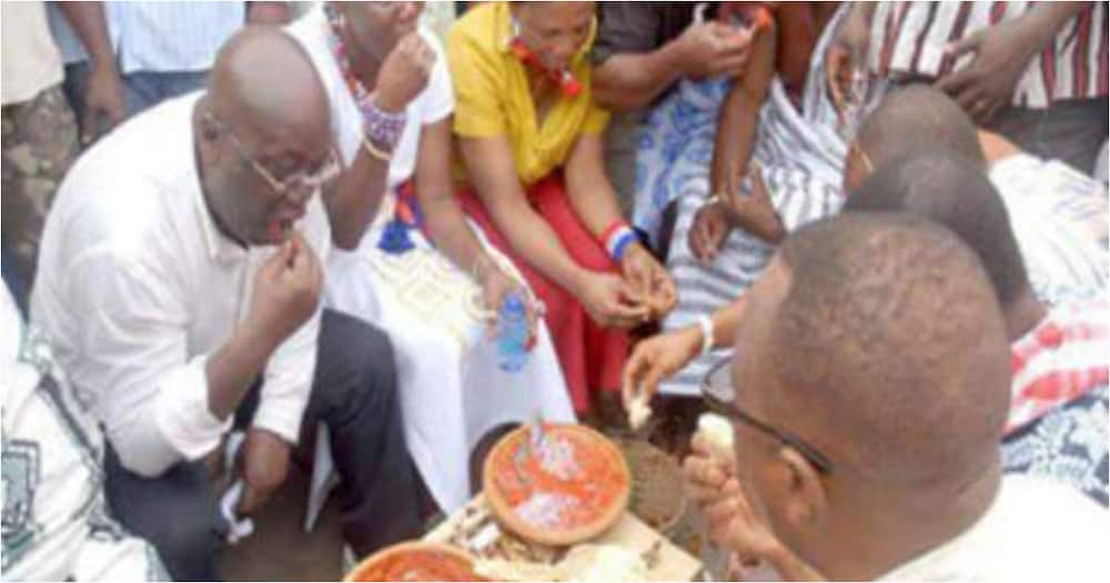 Levels don change: 4 photos that show Akufo-Addo's 'hustle' before becoming President