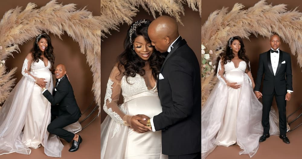 SA Couple Celebrate Pregnancy and Anniversary With Breathtaking Snaps