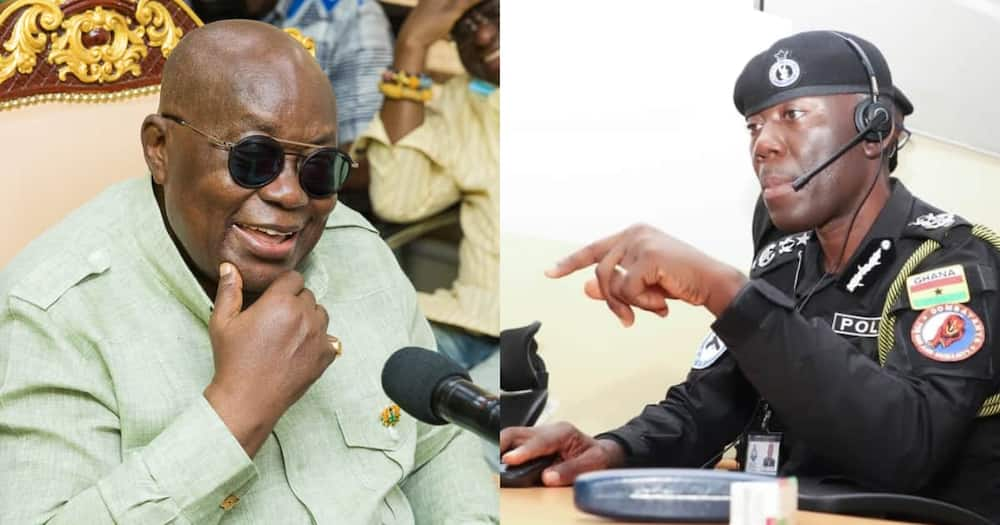 Akufo-Addo to confirm George Akuffo Dampare as Substantive IGP