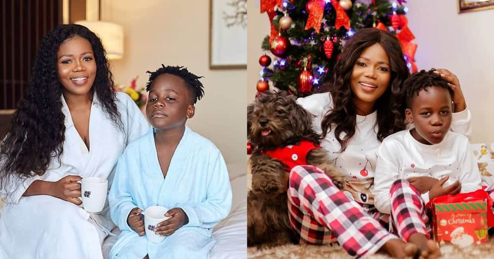 Father Of Mzbel's Son Adepa Calls To Pray For Him On His 8th Birthday; Video Drops