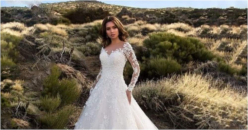 Bride disappointed after receiving different dress from what she ordered online