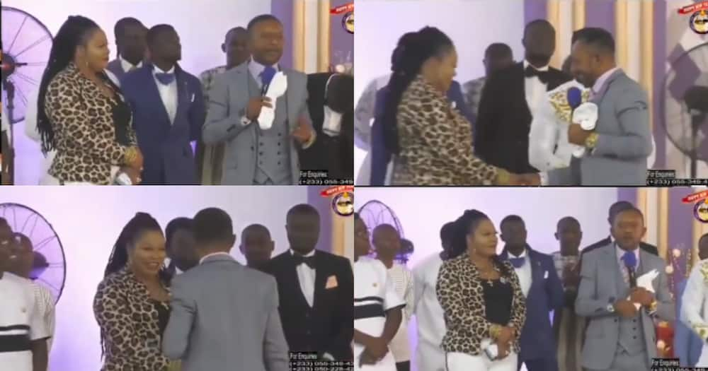 Throwback video of when Agradaa stormed Owusu-Bempah's church pops up