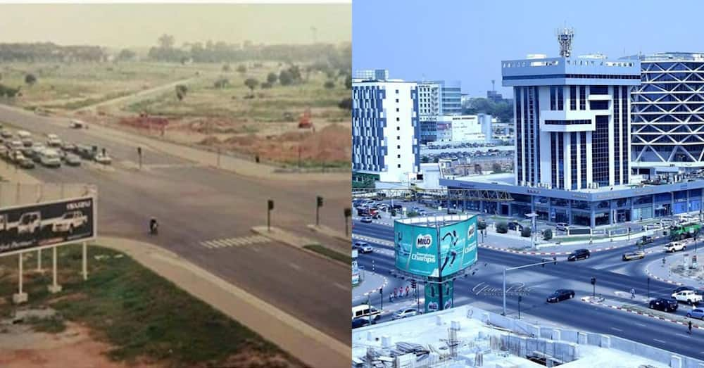 Old & new photos of Accra Airport City that show Ghana's system is working