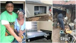 Man who was given 6 eggs by kind old woman builds nice house for her in return