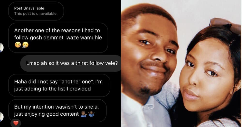 Kaylenciaga met her bf after he shot his shot in her direct messages