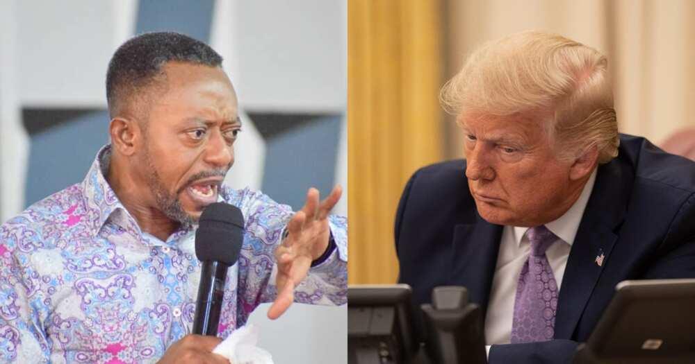 US Election: Owusu Bempah makes u-turn on Donald Trump prophecy