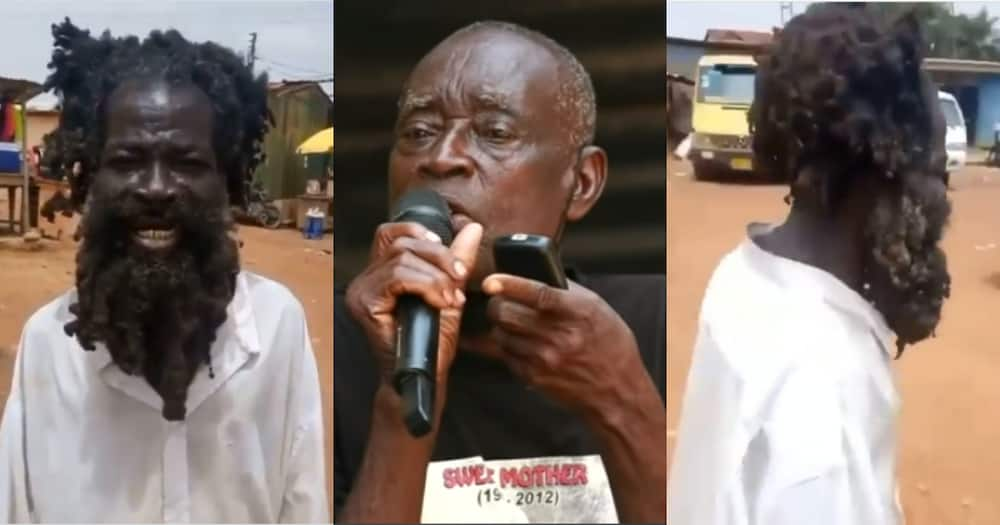 Mo Na Mo Ble: Father of Mentally ill man Tells the Cause of his Condition Which Started in form 2