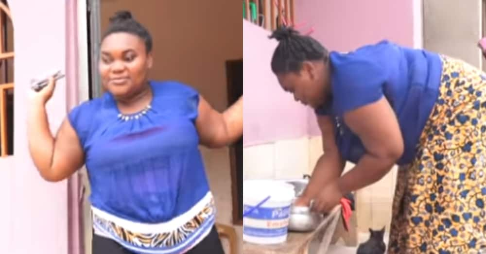 Ghanaian lady narrates how she became totally blind just after a headache (VIDEO)