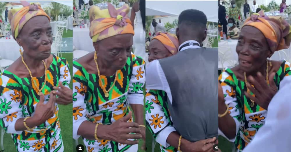 Grandmother Goes Viral With Her Lively Dance Moves To Gyakie's Forever At Wedding