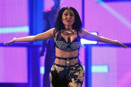 Nigerians angry at Nicki Minaj for jamming to Ghanaian song