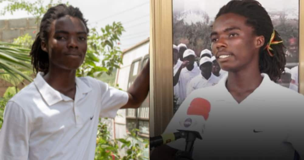 Tyrone Iras Marghuy: Achimota School Selects rasta student to join NSMQ team while appealing his admission