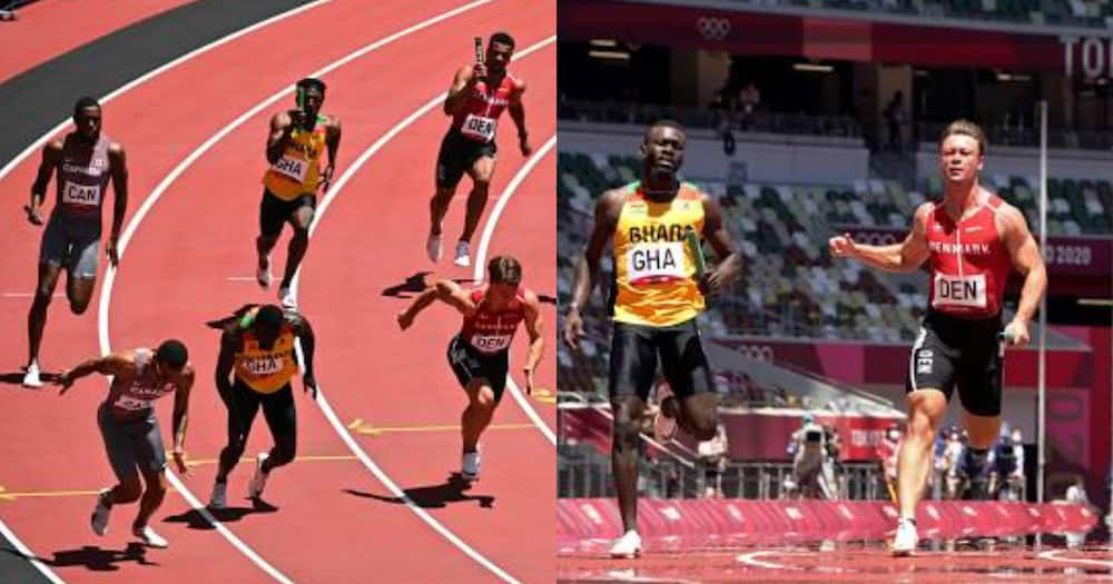 Joseph Paul Amoah promises 'different' finals after leading Ghana to 4x100 relay final