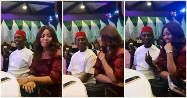 Couple goals: Regina Daniels and 59-year-old husband act like teenage lovers in new video