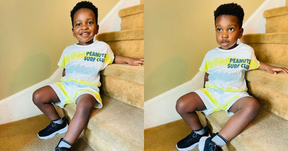John Dumelo: Actor's son Grows tall and Handsome in 8 Latest Photos; fans all over him