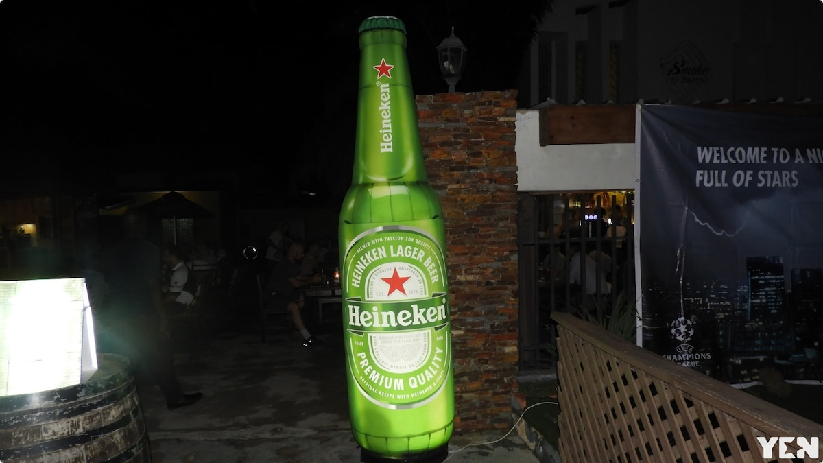 Heineken launches its 500ml bottle in Ghana