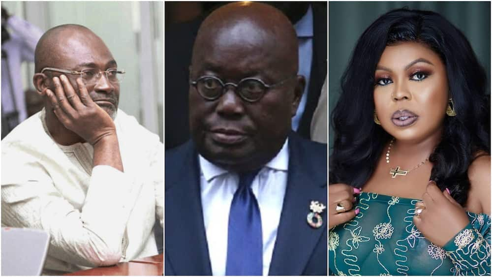 """Fix the country Ghana: Afia Schwar, Kennedy Agyapong join forces to """"lash"""" Akufo Addo"""